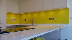 Splashbacks - Full Template, supply and fitting service.