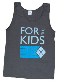 629871f4fb2d9 The Product of the Week this week is the NEW For The Kids Tank Top.