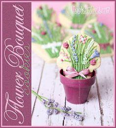 CookieCrazie: Flower Bouquet Cookies (Tutorial)
