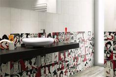piastrelle in bagno Gruppo del Conca LUPIN THE 3rd