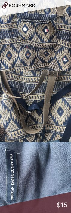 American Eagle Crossbody Slouchy Messenger Bag American Eagle Crossbody Bag. Snap Closure at Top. Adjustable Shoulder Straps American Eagle Outfitters Bags Hobos