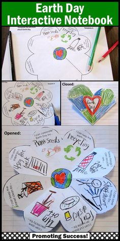 Earth Day Activity for Kids: In this craftivity, your students will be drawing or writing about Earth Day. The are six variations of the ONE foldable template, including open-ended options to meet the individual needs of all your students. This Earth Day craft activity works well year after year for multiple grade levels due to the different templates and writing or drawing options!  https://www.teacherspayteachers.com/Product/Earth-Day-1811160