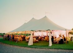 Candlelit Wedding Tent