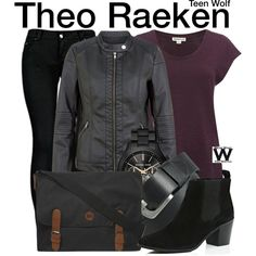 Teen Wolf by wearwhatyouwatch on Polyvore featuring Whistles, JDY, 2LUV, River Island, Dorothy Perkins, MICHAEL Michael Kors, Pieces, television and wearwhatyouwatch