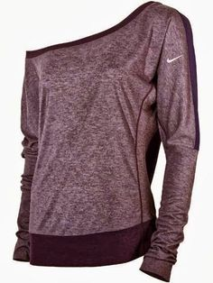 Comfy Nike One Shoulder Sweatshirt