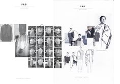 ARTS THREAD Profile - ARTS THREAD Fashion Portfolio Layout, Fashion Design Sketchbook, Portfolio Examples, Portfolio Web Design, Retro Logos, Vintage Logos, Design Development, Development Board, Textiles Sketchbook