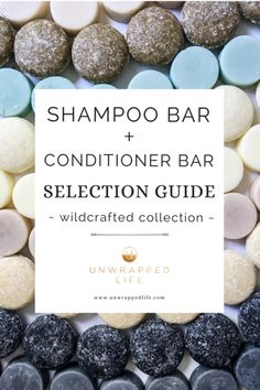 Wildcrafted Solid Shampoo Bar and Hair Conditioner Bar – Selection Guide : Shampoo bar selection guide for the Wildcrafted Collection of solid hair bars from Unwrapped Life. Shampoo Natural, Solid Shampoo, Organic Shampoo, Natural Hair Conditioner, Natural Soaps, Diy Shampoo, Lush Shampoo Bar, Best Shampoo Bars, Diy Cosmetic