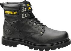 Men's+Caterpillar+Second+Shift+Work+Boot+-+Black+Seminole+with+FREE+Shipping+&+Exchanges.+Take+comfort+where+you+can+get+it.+This+supportive+and+straightforward+work