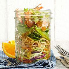 Shrimp and Broccoli Noodle Bowl