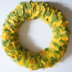 Gingko Leaf Wreath