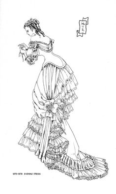 Victorian era lady by manga artist Reiko Shimizu.