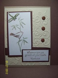 Chocolate Bliss by Dara - Cards and Paper Crafts at Splitcoaststampers