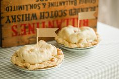 Homemade apple pies: http://www.stylemepretty.com/living/2013/11/01/an-apple-picking-porch-party-and-recipes/ | Photography: Bright to Light - http://bringtolightphotography.com/