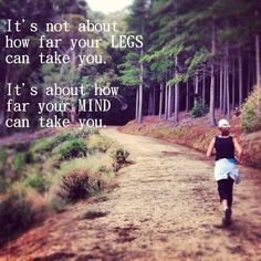I Run For... The Mental game of running