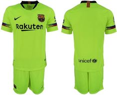 ad9827902 FC Barcelona Football club Nike Third Yellow Trainig Kit 2018-19 FÚTBOL  SOCCER CALCIO SHIRT JERSEY FUSSBALL CAMISA TRIKOT MAILLOT MAGLIA Camiseta  BNWT