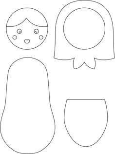 Sewing Toys How to Make a Russian Doll Fabric Doll Pattern, Knitted Doll Patterns, Doll Patterns Free, Fabric Dolls, Paper Dolls, Felt Patterns, Knitted Nurse Doll, Unicorn Doll, Matryoshka Doll