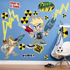 Johnny Test Giant Wall Decals    $40