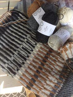 Øland sweater/mønsterstrik med dominans