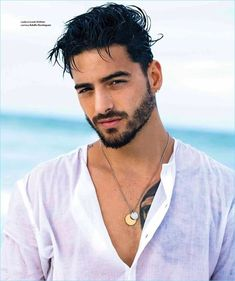 Maluma The bite Beautiful Men Faces, Gorgeous Men, Rib Tattoos For Guys, Maluma Pretty Boy, Crime, Gym Guys, Latino Men, Epic Beard, Romance