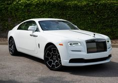 New 2019 Rolls-Royce Wraith Black Badge With Navigation Rolls Royce Wraith Black, White Rolls Royce, Rolls Royce Cars, New Luxury Cars, Luxury Car Brands, Fancy Cars, Nice Cars, Lexus Lfa, Lux Cars