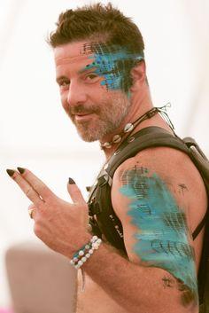 Radical self expression costumes at Burning Man 2015 Carnival of Mirrors                                                                                                                                                      More