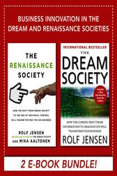 Business Innovation in the Dream and Renaissance Societies (eBook Bundle) by Rolf Jensen; Mika Aaltonen 2 E-Books in One The Renaissance Society THIS IS A BOOK ABOUT THE FUTURE. Your future. Our future. The eventual fate of organizations, the commercial center, and society. Download Business Innovation in the Dream and Renaissance Societies (eBook Bundle) eBook by using the download link listed below. We recommend using our eBook Reader to open the eBooks. After downloading Business…