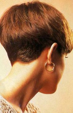Pixies Hair Cut Back Views Napes | HAIRXSTATIC: Short Back & Cropped [Gallery 1 of 3]