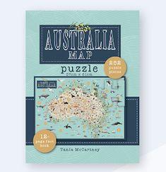 Australia Map, Wordless Picture Books, Map Puzzle, Ace Books, Australian Authors, Visual Literacy, Shape Puzzles, Art Sites, Reading Skills