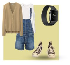 """Zoey outfit  1(b)"" by bamboodazzle ❤ liked on Polyvore featuring Converse, Gap, Dondup and Uniqlo"