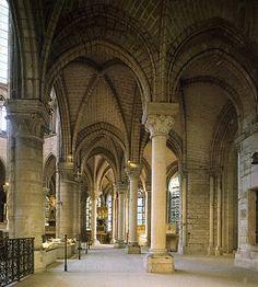Monastery Church of Saint Denis, ambulatory, Paris