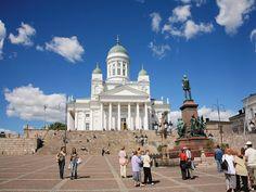 The Senate Square in #Helsinki. #Finland #Europe #CelebrityCruises