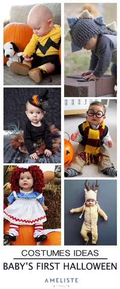 Inspiration Board // Baby's first Halloween Baby First Halloween Costume, Babys 1st Halloween, Diy Baby Costumes, Fete Halloween, Family Halloween Costumes, Girl Costumes, Halloween Birthday, Halloween Season, Halloween Outfits