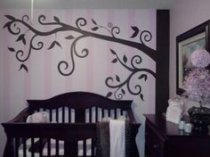 This is my little girl Taylor conleigh room. Pink and Brown .theme elephants and Disney.