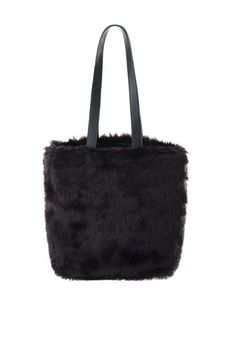 Marc by Marc Jacobs Tote - Spacious, faux fur tote with leather accents.