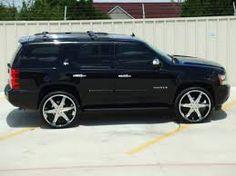 2008 Chevrolet Tahoe Specs, Photos, Modification Info at CarDomain Custom Chevy Trucks, Suv Trucks, Black Tahoe, Chevrolet Tahoe, Hype Shoes, Luxury Suv, Custom Wheels, Car Tuning, Vehicles