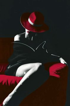 Image shared by Lady YoYosh. Find images and videos about girl, sexy and red on We Heart It - the app to get lost in what you love. Black White Red, Black Art, Red Hats, Shades Of Red, Black And White Photography, Feminine Photography, Body Photography, My Favorite Color, Female Bodies