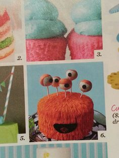 Monster cake. From Parents Magazine.