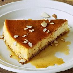 Almond Crème Caramel ~ Just Easy !!