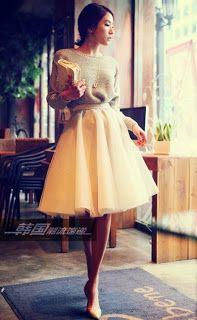 Fashionista lover....: Fashionable attire..Skirts oh la la!