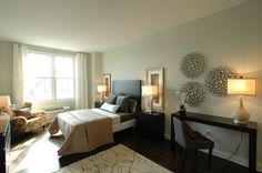 Master Bedroom Decorating Ideas with Wall Decor Art - Home ...