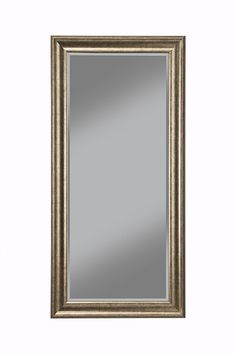 Amazon.com: Sandberg Furniture 14111 Full Length Leaner Mirror Frame, Antique Gold: Kitchen & Dining