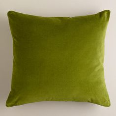 One Of My Favorite Discoveries At Worldmarket Calla Green Velvet Throw Pillows