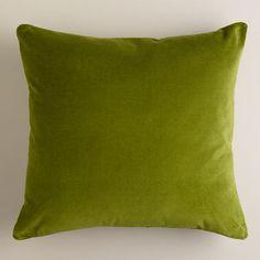 Rain Throw Pillow Green, Neutral   Products   Green throw ...