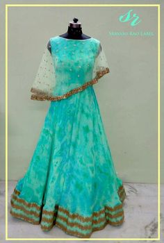 For order and more collection watsapp to 9491550579 Indian Gowns, Pakistani Dresses, Indian Outfits, Gown Pattern, Dress Patterns, Anarkali Dress, Lehenga, Cape Dress, Vintage Gowns