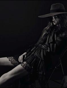 Caroline Brasch Nielsen by Mario Sorrenti for Vogue Italia March 2013 _