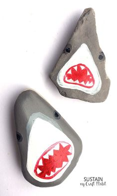 (adsbygoogle = window.adsbygoogle || []).push();   So great! Learn how to paint these hilarious shark heads on rocks! Perfect rock painting craft for the summer! Source by kimmchemry1957 Famous singers images – So great! Learn how to paint these hilarious shark heads on rocks!...