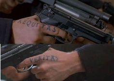 Hand tattoos saints and tattoos and body art on pinterest for Boondock saints hand tattoos