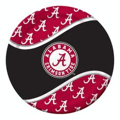 Alabama UA Crimson Tide 9-inch Luncheon or Dinner Paper Plate $4.00