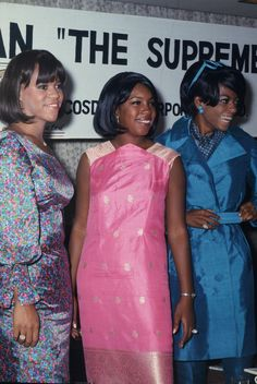 The Supremes L-R Florence Ballard, Mary Wilson and Diana Ross at a press conference at The Hotel Ohtani in Tokyo, Japan on September 1966
