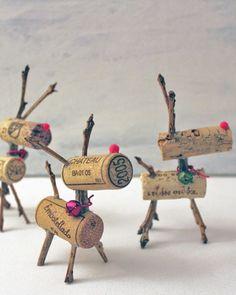 Shake My Blog | Des rennes avec des bouchons de liège